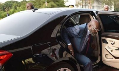 Bulletproof Mercedes-Benz S-Class, The Official Car Of President Of Liberia, George Weah - autojosh