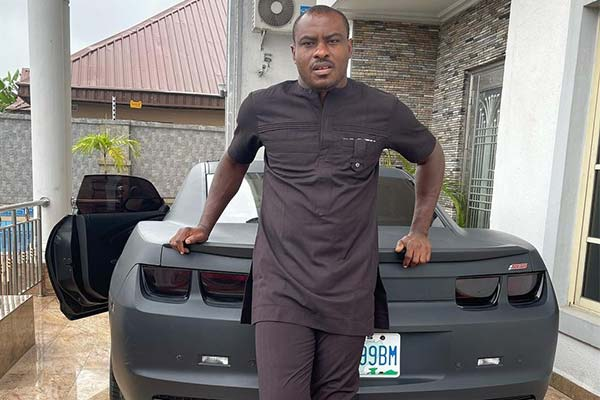 Ex-Super Eagles Goal Keeper Vincent Enyeama Poses With His Chevrolet Camaro SS - autojosh