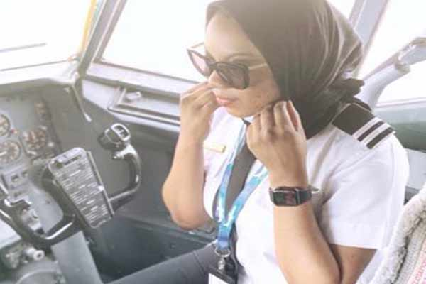 Meet Nigerian Lady Who Has Been Flying Aircrafts Since Age 17 - autojosh