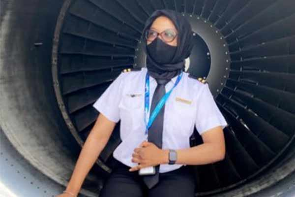 Meet Nigerian Lady Flying Aircraft Since When She Was 17-Year-Old (PHOTOS)