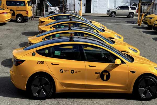 Tesla Model 3 Drives New York To Put More All-electric Yellow Taxis On The Road - autojosh