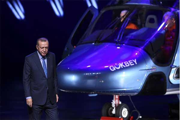 Turkey Unveils 1st Locally-made Helicopter, To Go Full-Scale Testing - autojosh