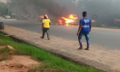 Five Shot Dead, Vehicles Burnt As Gunmen Invade Anambra State - autojosh