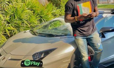 Actor Kola Adeyemi Poses With Lamborghini Aventador - autojosh