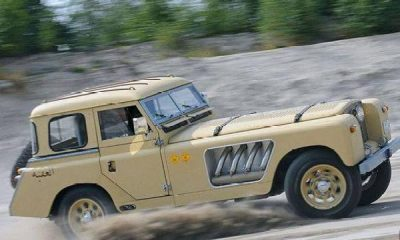 "This One-off Land Rover ""Bell Aurens Longnose"" Is Still A Head-turner - autojosh"
