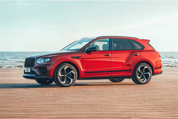 Bentley Releases Bentayga S Which Is A Sportier Styled V8 Version Of The Iconic SUV