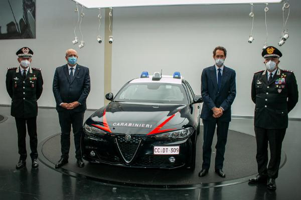 Bulletproof Alfa Romeo Giulia Joins Italian Police, The First Of 1,770 Units That Will Join The Force - autojosh
