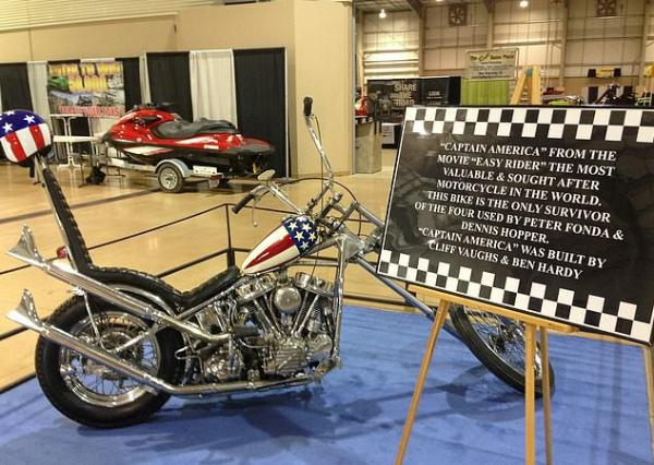 Captain America Harley-Davidson Motorcycle From 1969 Film To Be Auctioned Off In June For $500k - autojosh