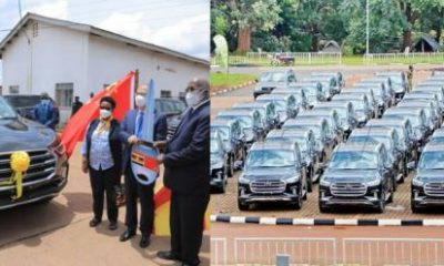 Check Out 70 Brand New SUVs Worth $5M That China Donated To Uganda - autojosh