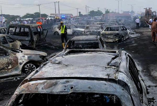Crashes On Otedola Bridge Caused By Reckless Truck Drivers, And Not By Demons, Witches - FRSC Insists -autojosh