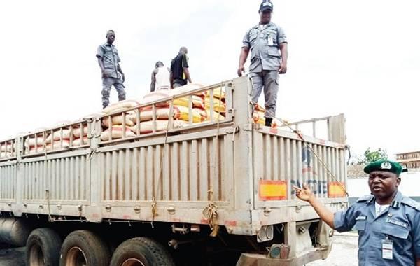 Ogun Customs Seizes Dangote Truck With 600 Smuggled Rice, Records Seizures Worth N189m In April - autojosh