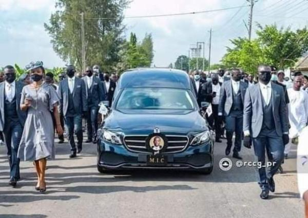 RCCG Pastor Dare Adeboye Laid To Rest At The Redemption Camp - autojosh