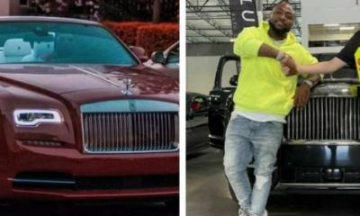 Car Wars : Davido's Rolls-Royce Cullinan Vs Burna Boy's Rolls-Royce Dawn - autojosh