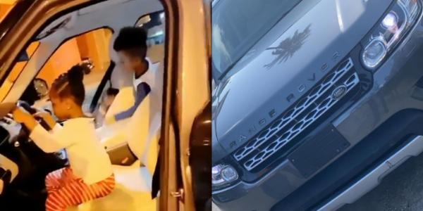 Davido Buys Range Rover SUV For Daughter 'Imade' As Birthday Gift - autojosh