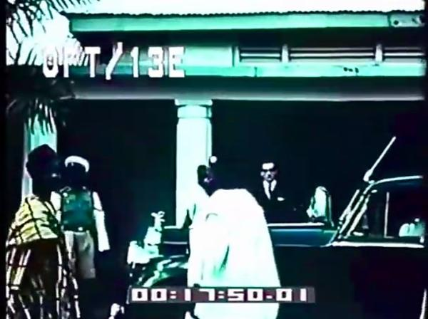 Premier Of Eastern Nigeria Dr Opkara Alighting From His Rolls-Royce During Project Inspection In 1960s - autojosh