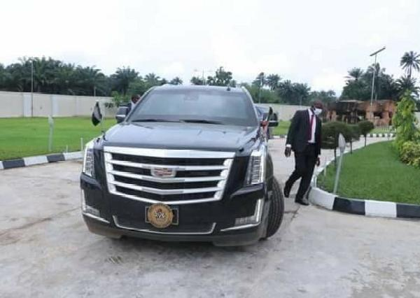 Check Out Ebonyi State Governor's Official Car, Bulletproof Cadillac Escalade SUV - autojosh
