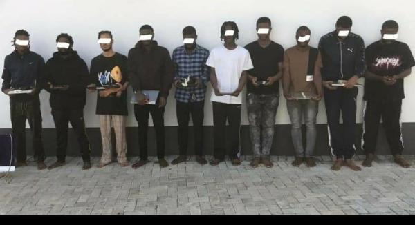 EFCC Arrest 10 Internet Fraudsters Yahoo Boys' In Enugu, Recovers Two Lexus RX 350 SUVs - autojosh