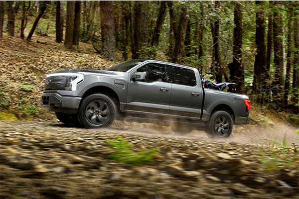 Ford Unveils Its All Electric F-150 Lightning Pickup Truck Which Is Fast And Powerful