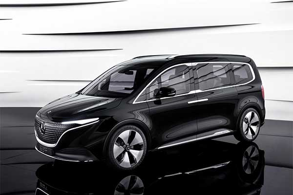Mercedes-Benz launches The EQT Concept, An Electric Version Of The Future T-Class