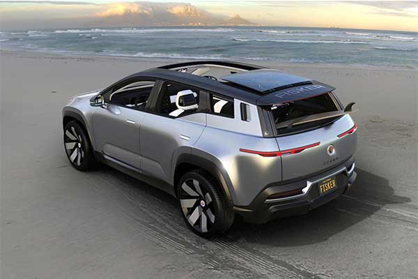 New Pope Mobile Goes Electric As Fisker Builds One Based On The Upcoming Ocean Crossover SUV