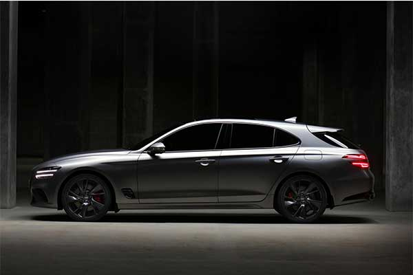 Genesis Launches 2022 G70 Shooting Brake For The European Market