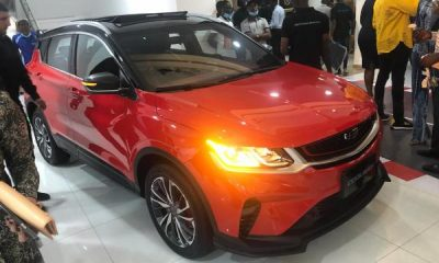Geely Coolray SUV Launched Into Nigerian Market, Comes In Two Trims, 5-yr/150,000km Warranty - autojosh