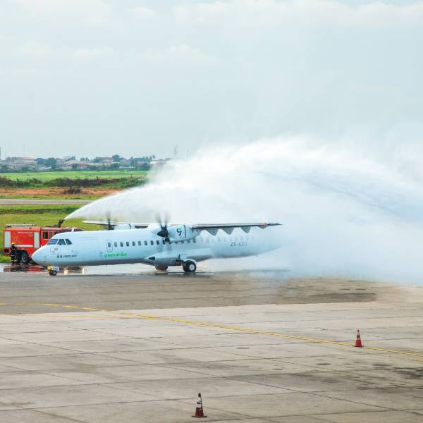 Green Africa Airways Takes Delivery Of One Of Its First ATR 72-600 In Lagos - autojosh