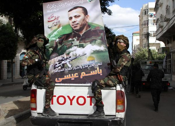 Hamas Rides On Toyota Hilux Trucks During Military Parade To Show Off Force, After Ceasefire With Israel - autojosh