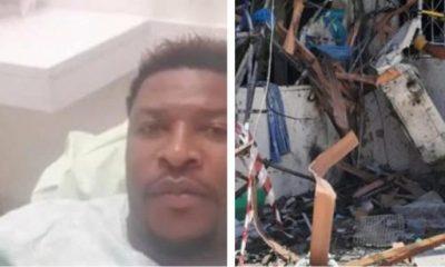 Buildings Destroyed, Cars Smashed, How Ex-Nigerian Footballer, Ogbonna, Survived Rocket Attack In Israel - autojosh