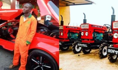 Nigerian Supercar Maker, Jerry Mallo, Showcases Market-ready Tractors - autojosh