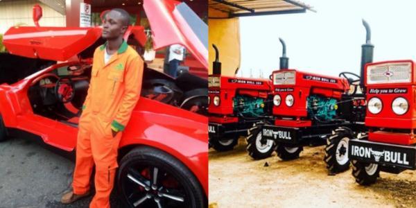 Nigerian Supercar Maker, Jerry Mallo, Showcases Market-ready Tractors - autojosh