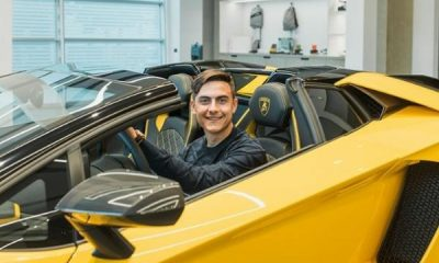 Paulo Dybala Buys $500k Lamborghini Aventador S Roadster To Celebrate 100th Goal As Juventus Striker - autojosh