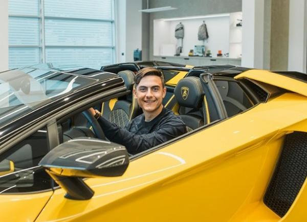 Paulo Dybala Buys $500k Lamborghini Aventador S Roadster To Celebrate 100th Goal As Juventus Striker - autojosh