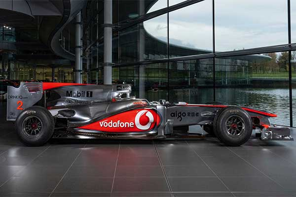 Lewis Hamilton's Mclaren-Mercedes F1 Car Used At The 2010 Turkish Grand Prix Is Up For Auction