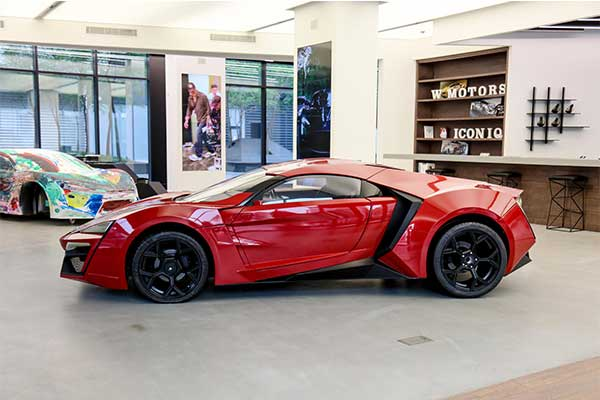 Fast And Furious 7's Lykan Hypersport Stunt Car Up For Auction