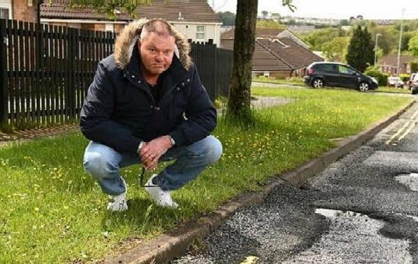 Man Demands ₦175k From UK Govt. After Deadly Potholes Damaged His Car - autojosh