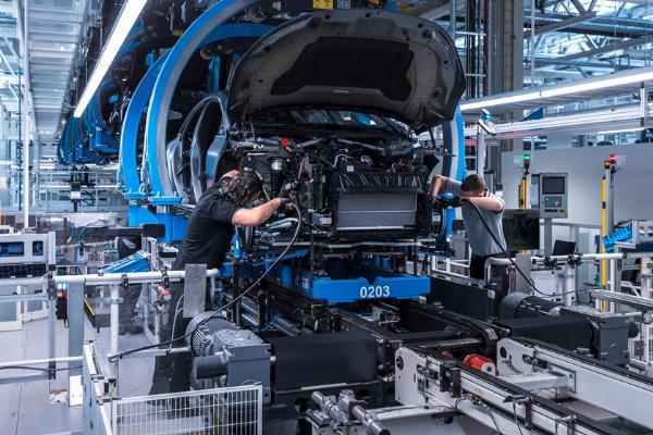 Mercedes-Benz EQS Production Starts - autojosh