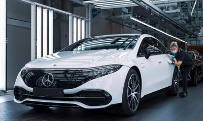 Mercedes-Benz EQS Production Starts - autojosh