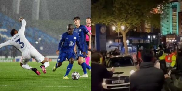 N'golo Kanté Going Home In His MINI Cooper After Helping Chelsea To Defeat Real Madrid - autojosh