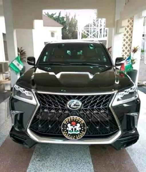 Bulletproof Lexus LX 570 SUV, The Official Car Of Kaduna State Governor, Nasir el-Rufai - autojosh