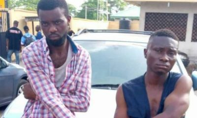 Police In Edo Arrests Two For Stealing N5.2m Cash Dropped By Fleeing Armed Robbers On Bike - autojosh