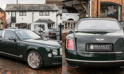 Queen Elizabeth ll's Bentley Mulsanne Sells For $322,000 - autojosh