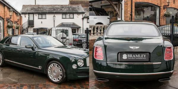 Queen Elizabeth ll's Bentley Mulsanne Sells For $322,000 - autojosh