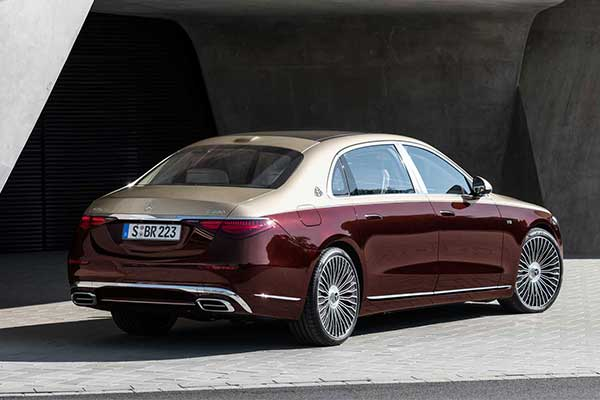 Behold The 2022 Mercedes-Benz S-Class Maybach V12 Variant The Company Released discreetly