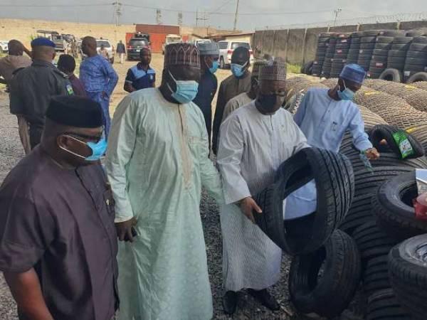 SON Seizes ₦600m Worth Substandard Tyres In Ogun - autojosh