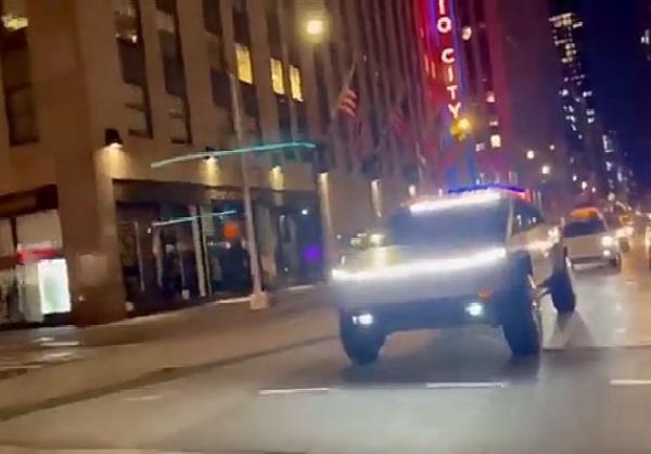 Tesla Cybertruck Prototype Turns Head In New York City - autojosh