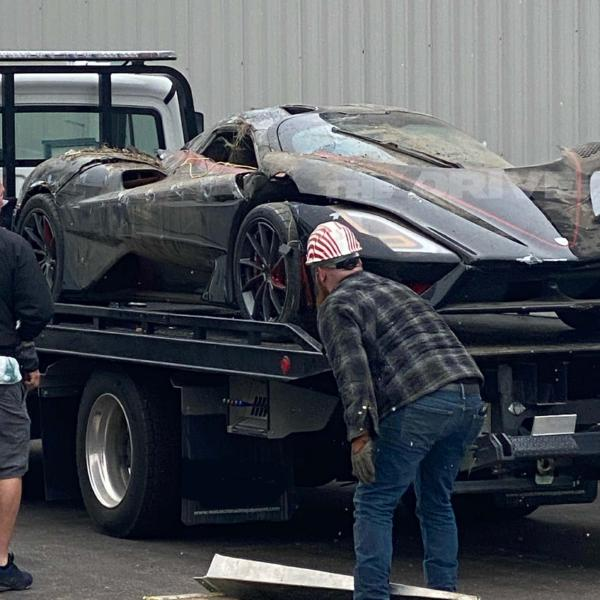 Top-speed Record-holding SSC Tuatara Wrecked After Car-Carrier Ferrying $1.9m Hypercar Tipped Over - autojosh