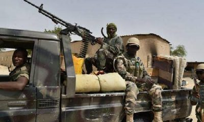 Two Arrested, Jerry Cans Of Petrol Recovered, After Troops Raided Boko Haram Logistics Base In Yobe - autojosh