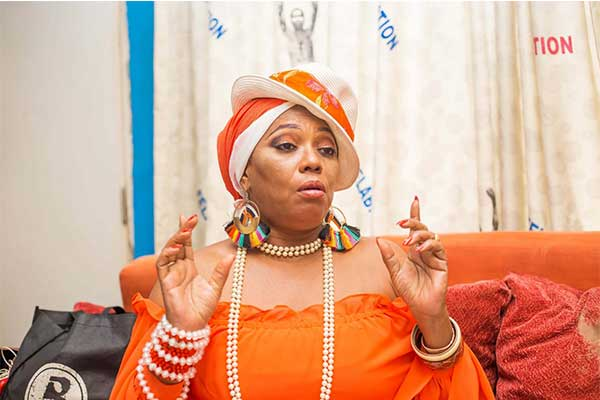 Yeni Kuti Stunned As Fans Buys Her A Car To Celebrate Her 60th Birthday