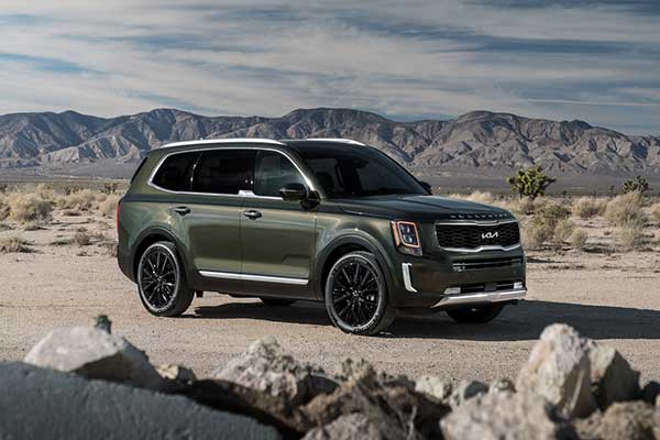 Kia Refreshes Its Best Selling Telluride SUV For 2022 With A New Logo And Updated Equipment